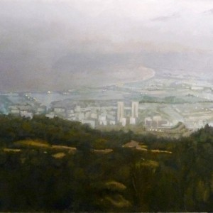 10_Haifa Bay, 2012, Oil on Canvas 150X100