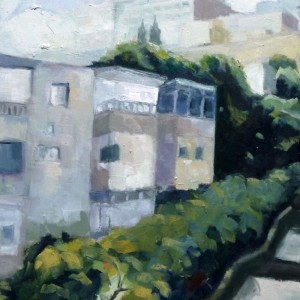 16_Samuel Stairs, 2011, oil on wood, 30X40