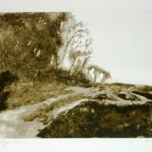 P11_Landscape2, 2012, Monotype, plate 35X25