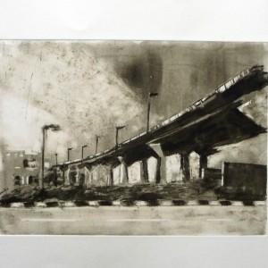 P5_Rushmia, 2013, Monotype, Plate 35X25