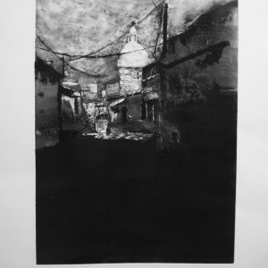P6_Turkish market 1, 2013, Monotype, plate 25X35