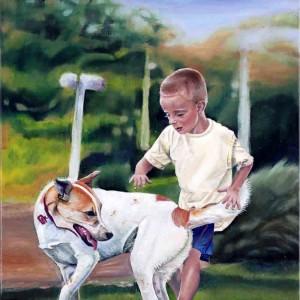 שלומי--אשר--ילד-וכלב
