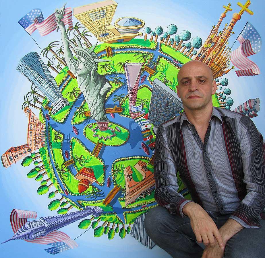 רפי פרץ, צייר ישראלי