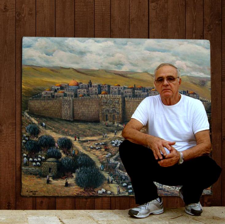 אמנון הופטמן, צייר ישראלי