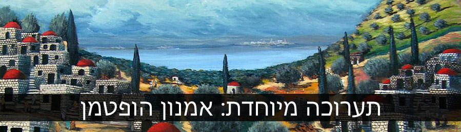 אמנון הופטמן, תערוכה מיוחדת