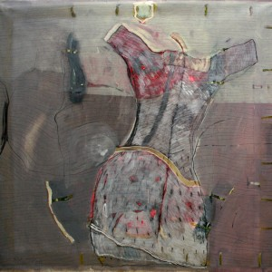 01-Dress-,Series-2012,oil-on-canvas-146X146-cm,nis-16000
