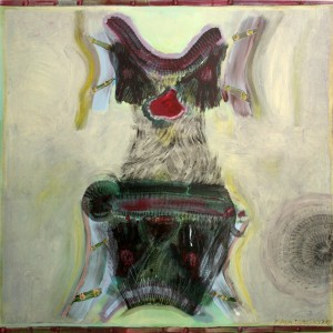 03-Dress-,Series-2012,oil-on-canvas-141X140-cm-,-nis-16000